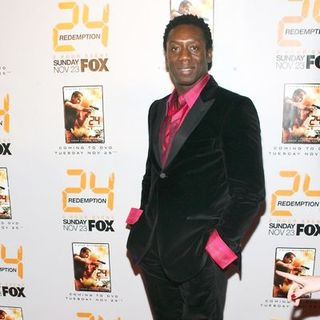 "Hakeem Kae-Kazim in ""24: Redemption"" New York Premiere - Arrivals"