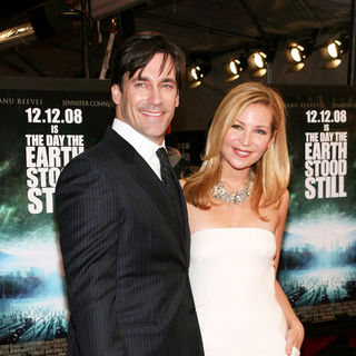 "Jon Hamm, Jennifer Westfeldt in ""The Day the Earth Stood Still"" New York Premiere - Arrivals"