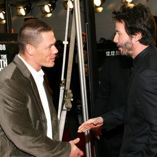 "John Cena, Keanu Reeves in ""The Day the Earth Stood Still"" New York Premiere - Arrivals"