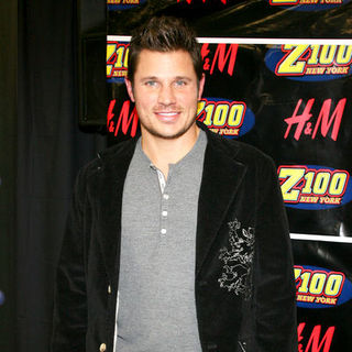 Nick Lachey in Z100's Jingle Ball 2008 - Press Room