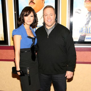 "Kevin James, Steffiana De La Cruz in ""Paul Blart: Mall Cop"" New York City Premiere - Arrivals"