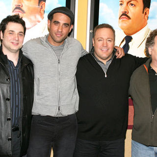 "Kevin James, Bobby Cannavale, Adam Ferrara, Peter Gerety in ""Paul Blart: Mall Cop"" New York City Premiere - Arrivals"