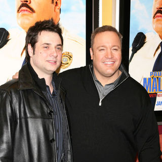 "Kevin James, Adam Ferrara in ""Paul Blart: Mall Cop"" New York City Premiere - Arrivals"