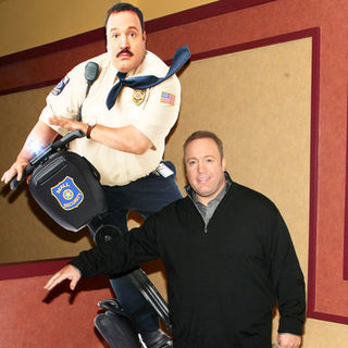 "Kevin James in ""Paul Blart: Mall Cop"" New York City Premiere - Arrivals"