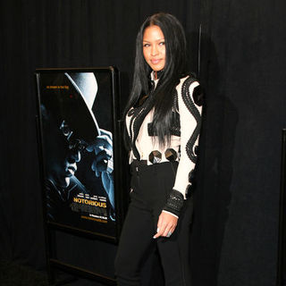 "Cassie in ""Notorious"" New York City Premiere - Arrivals"