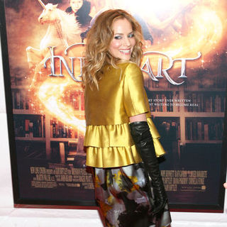 "Sienna Guillory in ""Inkheart"" New York Premiere - Arrivals - SGY-006155"