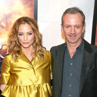 "Sienna Guillory, Iain Softley in ""Inkheart"" New York Premiere - Arrivals"