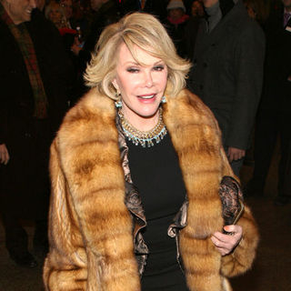 "Joan Rivers in ""The American Plan"" Broadway Play Opening Night - Arrivals"