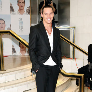 "Jonathan Rhys-Meyers in Jonathan Rhys Meyers Launches Hugo ""Element"" Fragrance and Signs Autographs at Macy's in New York"