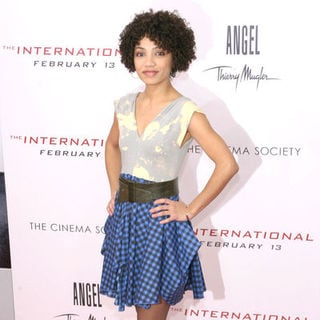 "Jasika Nicole in ""The International"" New York Premiere - Arrivals"
