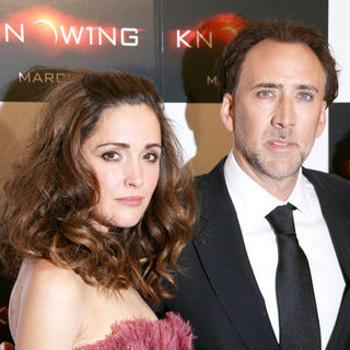 "Nicolas Cage, Rose Byrne in ""Knowing"" New York Premiere - Arrivals"