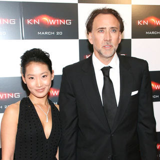 "Nicolas Cage, Alice Kim in ""Knowing"" New York Premiere - Arrivals"