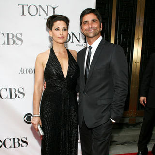 Gina Gershon, John Stamos in 63rd Annual Tony Awards - Arrivals