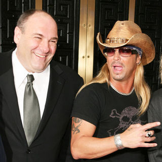 James Gandolfini, Bret Michaels in 63rd Annual Tony Awards - Arrivals