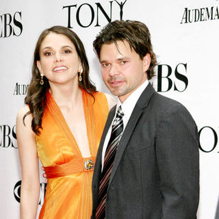 Sutton Foster, Hunter Foster in 63rd Annual Tony Awards - Arrivals