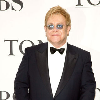 Elton John in 63rd Annual Tony Awards - Press Room
