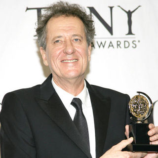 Geoffrey Rush in 63rd Annual Tony Awards - Press Room