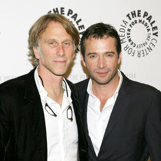 "James Purefoy, Peter Horton in NBC's ""The Philanthropist"" New York City Premiere - Arrivals"