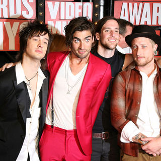 The All-American Rejects in 2009 MTV Video Music Awards - Arrivals