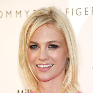 January Jones - Tommy Hilfiger Fifth Avenue Global Flagship Store Opening - Arrivals