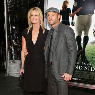 "Faith Hill, Tim McGraw in ""The Blind Side"" New York Premiere - Arrivals"