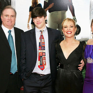 "Sean Tuohy, Sean Tuohy Jr., Leigh Anne Tuohy, Collins Tuohy in ""The Blind Side"" New York Premiere - Arrivals"