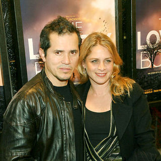 "John Leguizamo, Justine Maurer in ""The Lovely Bones"" New York Premiere - Arrivals"