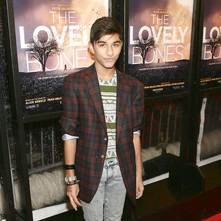 "Mark Indelicato in ""The Lovely Bones"" New York Premiere - Arrivals"