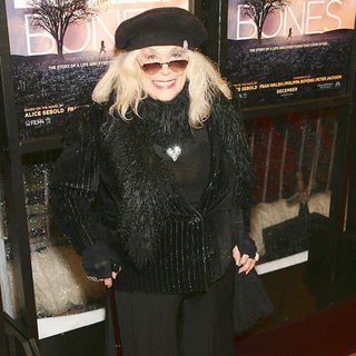 "Sylvia Miles in ""The Lovely Bones"" New York Premiere - Arrivals"