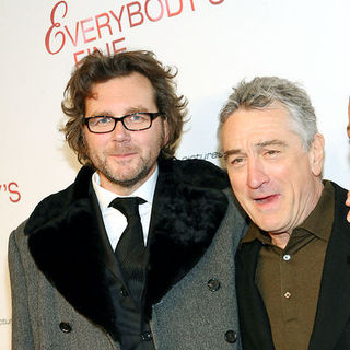 "Robert De Niro, Kirk Jones in ""Everybody's Fine"" New York Premiere - Arrivals"
