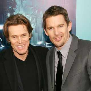 "Willem Dafoe, Ethan Hawke in NYC Premiere of ""Daybreakers"""
