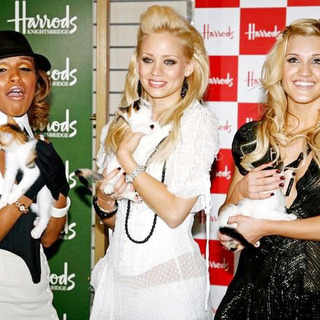 Pussycat Dolls Open Harrods Summer Sale in London