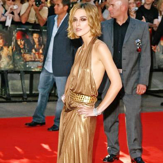 Keira Knightley in Pirates Of The Caribbean: Dead Man's Chest UK Premiere