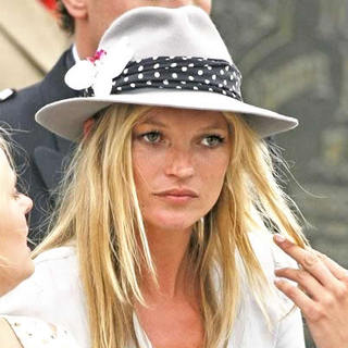 Kate Moss - Bobby Gillespie of Primal Scream Married Katy England at St. Margaret's Church