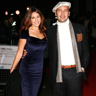 Kelly Brook, Billy Zane in 2006 BFI London Film Festival - The Lives Of The Saints
