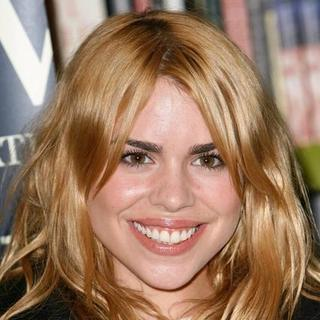 Billie Piper Signs Copies of Her Book Growing Pains at Waterstones Oxford Street