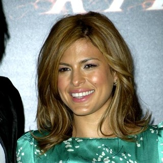 Eva Mendes in The Ghost Rider Photocall at the Santo Mauro Hotel in Madrid