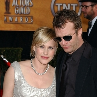 Patricia Arquette, Thomas Jane in 13th Annual Screen Actors Guild Awards - Arrivals