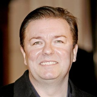 Ricky Gervais in 2007 BAFTA Awards - Arrivals