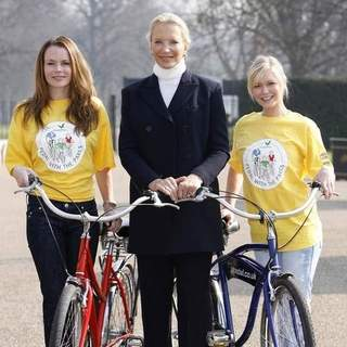 HRH Princess Michael of Kent Launches Center Parcs Pedal With The Parcs for Sparks.