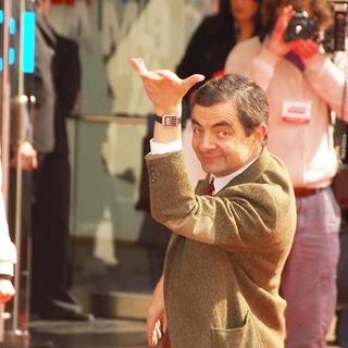 Rowan Atkinson in Mr. Bean's Holiday Movie Premiere in London