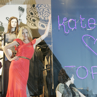 Kate Moss - Kate Moss At TopShop - Launching Her New Clothing Collection - April 30, 2007