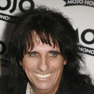 Alice Cooper in 2007 Mojo Music Awards Honours List - Arrivals