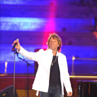 Jon Bon Jovi in Enrique Iglesias Performs Live In Concert With Guest Appearances From Elizabeth Hurley, Jon Bon Jovi