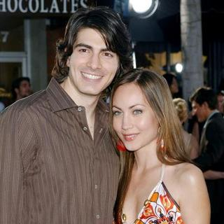 Brandon Routh, Courtney Ford in Transformers Los Angeles Movie Premiere - Arrivals