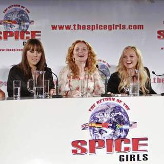 Spice Girls in The Spice Girls Reunion World Tour Photocall
