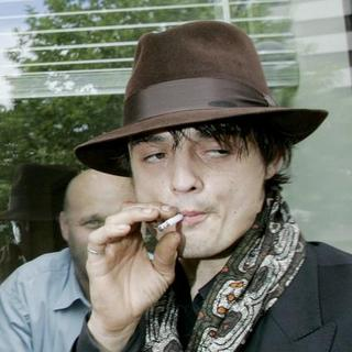 Pete Doherty - Pete Doherty Departing Court After His Case Was Adjourned