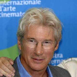 Richard Gere in 64th Annual Venice Film Festival - Day 7 - I'm Not There - Movie Photocall