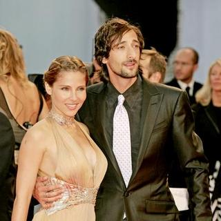 Elsa Pataky, Adrien Brody in 64th Annual Venice Film Festival - The Darjeeling Limited - Premiere