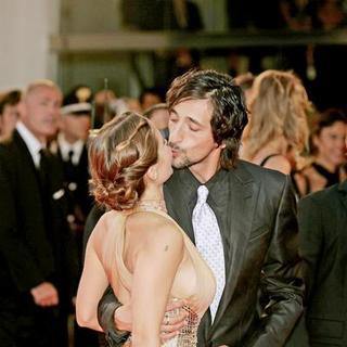 Adrien Brody, Elsa Pataky in 64th Annual Venice Film Festival - The Darjeeling Limited - Premiere
